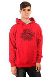 Толстовка кенгуру Fallen Brand Seal Pullover Hood Red/Black