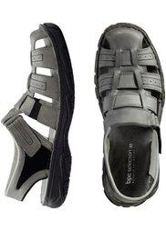 Трекинговые сандалии (серый) Bonprix
