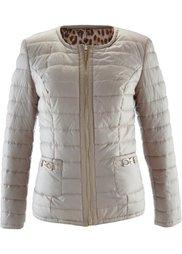 Двухсторонняя куртка (черный/леопардовый) Bonprix