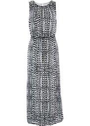Длинное платье (светло-коричневый/натуральный ) Bonprix