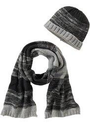 Серия вязаных изделий для мужчин: шарф (антрацитовый меланж) Bonprix