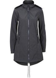 Куртка-парка софтшелл (черный) Bonprix