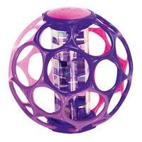 Мячик с погремушкой, розовый, Oball