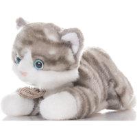 Мягкая игрушка Котик серый, 22см, AURORA