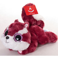 Мягкая игрушка Белка Чиву лежачая, 16 см, Юху и друзья, AURORA