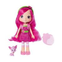 Кукла Малинка с питомцем, 15 см, Шарлотта Земляничка, The Bridge