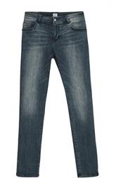 Зауженные джинсы с потертостями Giorgio Armani