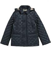 Стеганая куртка с капюшоном Burberry