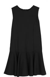Шерстяное платье без рукавов Dal Lago
