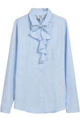 Хлопковая блуза с бантом Aletta