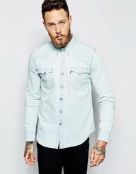 Светлая джинсовая рубашка в стиле вестерн Levis Barstow - Светлый Levis®
