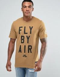 Зеленая футболка Nike Air 822648-245 - Зеленый