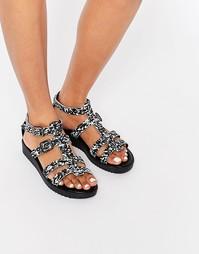 Кожаные сандалии Piesces Pselsbeth Pieces