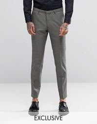 Супероблегающие брюки с узором гусиная лапка Heart & Dagger