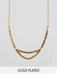 Ожерелье с вырезом Gorjana Amanda - Золотой