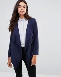 Куртка с бахромой Unique 21 - Темно-синий