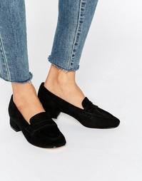 Мягкие лоферы на низком каблуке Truffle - Черный