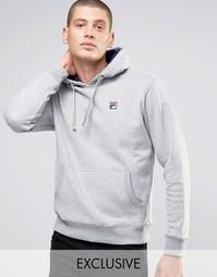 Худи с маленьким логотипом Fila Vintage - Серый
