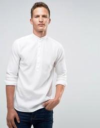 Рубашка кроя слим с воротником на пуговицах Jack & Jones Premium