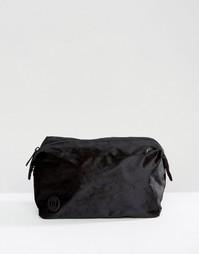 Эксклюзивная вельветовая косметичка Mi-Pac - Черный