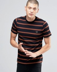 Черная футболка Fred Perry - Черный