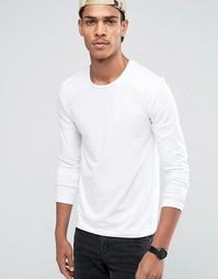 Celio Slim Fit Long Sleeve Top - Белый