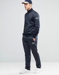 Темно-синий спортивный костюм Emporio Armani EA7 - Темно-синий
