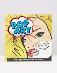 Книга-раскраска с дудлами Pop Art - Мульти Books