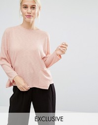Monki Pocket Jumper - Розовый