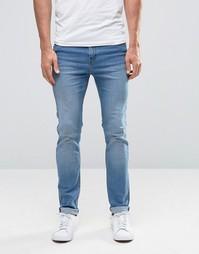 Синие джинсы скинни Cheap Monday - Синие волны