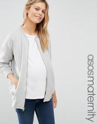 Куртка-пилот для беременных ASOS Maternity Ultimate - Серый