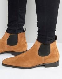 Замшевые ботинки челси KG Kurt Geiger Lawson - Рыжий