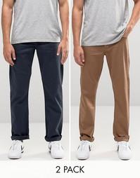 2 пары эластичных джинсов слим ASOS - СКИДКА 16%