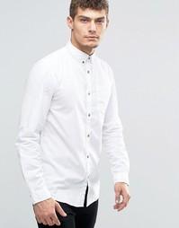 Рубашка на пуговицах с карманом Jack & Jones - Белый