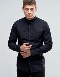 Рубашка на пуговицах с карманом Jack & Jones - Черный