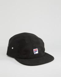 Флисовая кепка с логотипом Fila эксклюзивно для ASOS - Черный