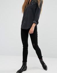 Рваные джинсы скинни Rock & Religion Neve - Черный
