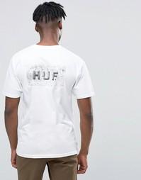 Футболка с логотипом HUF - Белый