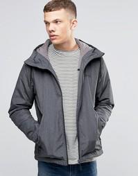 Легкая черная куртка на молнии с капюшоном Bench - Черный