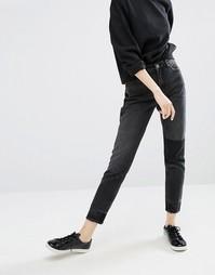 Джинсы в винтажном стиле Monki - Черный