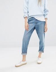 Прямые джинсы Monki - Светло-голубой