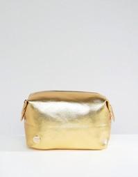 Mi-Pac Gold Tumbled Make-Up Bag - Золотой
