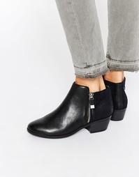 Плоские ботинки в стиле вестерн Call It Spring Marguarite - Черный