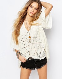 Кремовый топ Free People Summer Lovin - Кремовый
