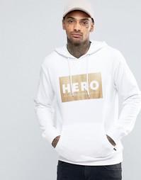 Худи с логотипом Heros Heroine - Белый