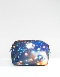 Эксклюзивная косметичка с галактическим принтом Mi‑Pac