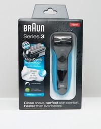 Бритва для сухого и мокрого бритья Braun 3-340s - Мульти