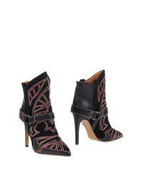 Черные Полусапоги и высокие ботинки Isabel Marant