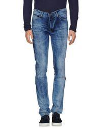 Джинсовые брюки Worn BY