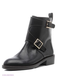 Черные Ботинки BASCONI